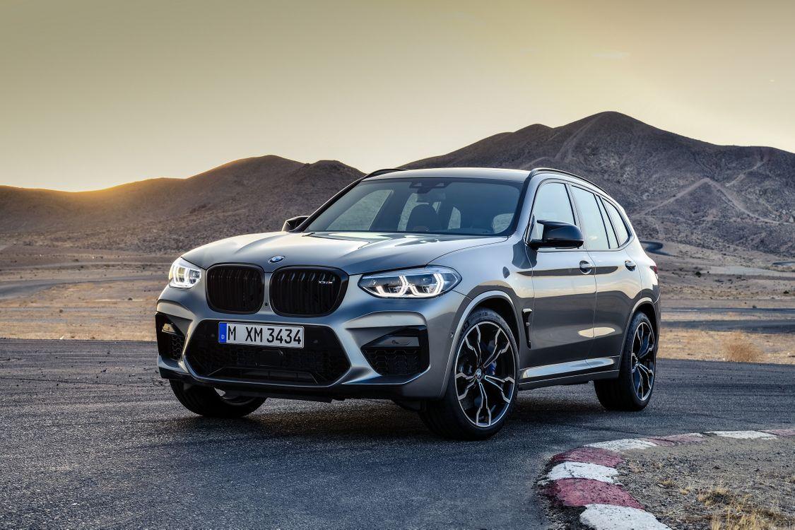Free photo BMW X3, trail, road - to desktop