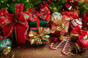 Photo free christmas, background, toys