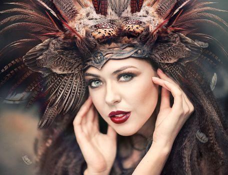 Фото бесплатно головной убор, стиль, девушки