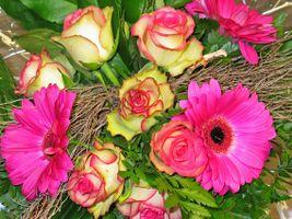 Фото бесплатно Красивый букет, праздничный букет, цветочный