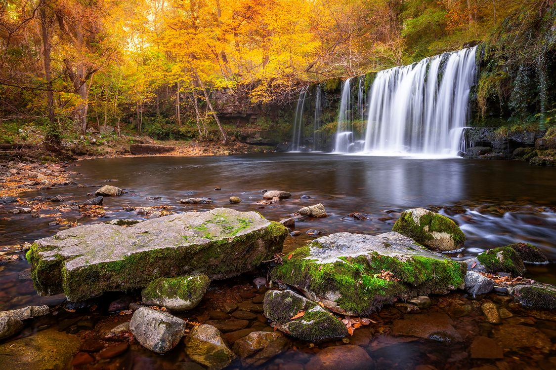 Водопады России · бесплатное фото