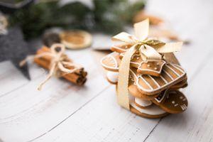 Фото бесплатно корица, пряники, декор