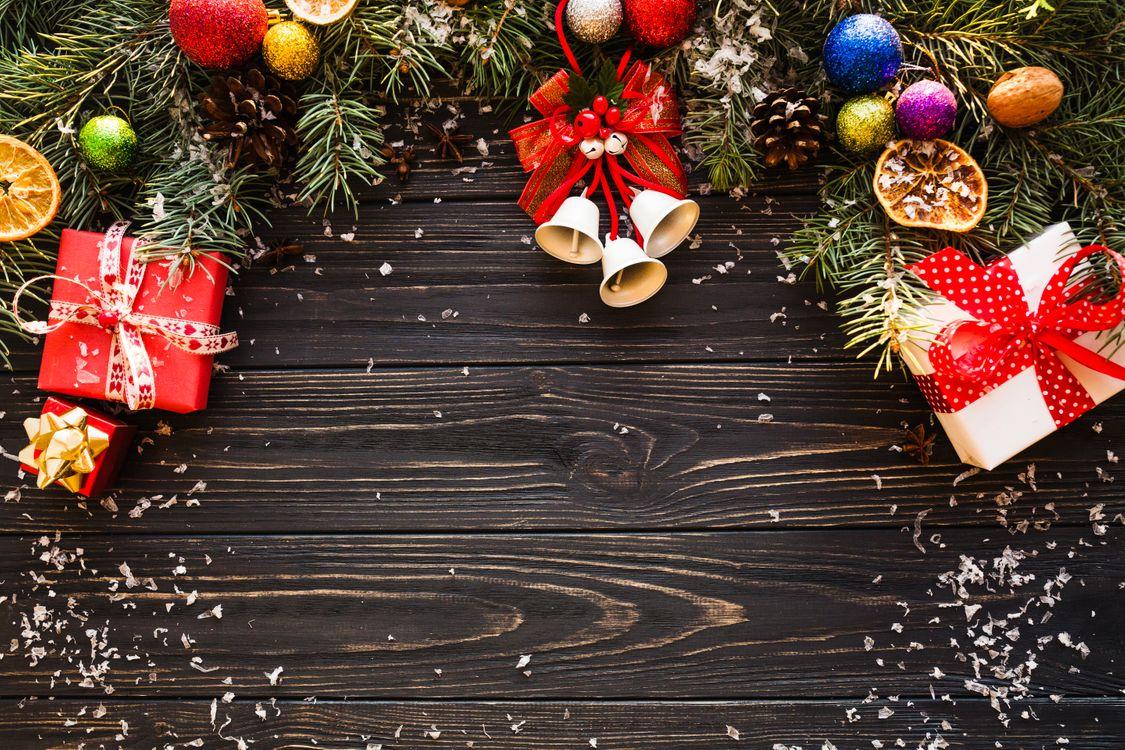 Фото бесплатно wood, подарки, декор, рамка, поздравительная, новогодняя, новый год